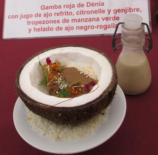 Álvaro abad gana el v concurso de cocina creativa de la gamba roja ...