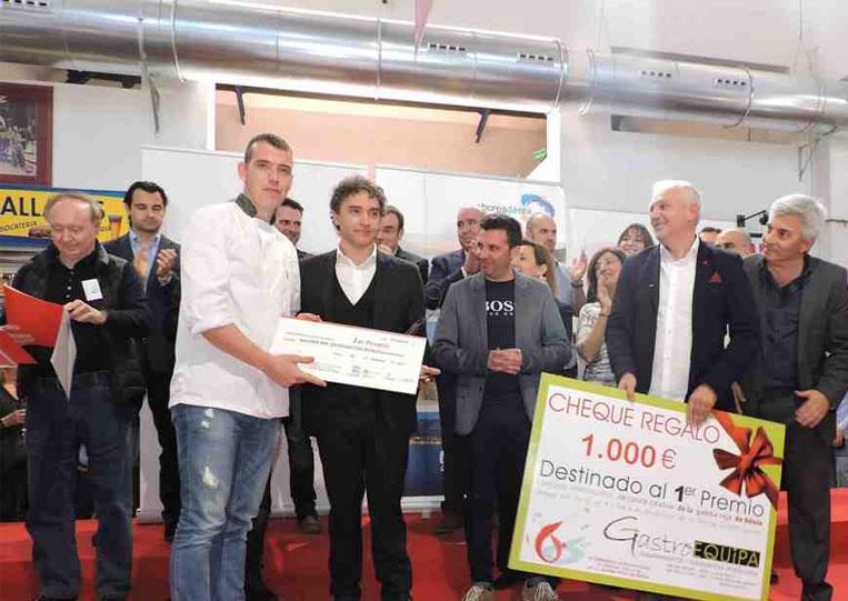 Antonio villaescusa gana el concurso de cocina creativa con gamba ...