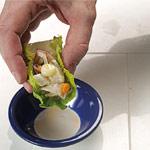ceviche con crema de boniato y maíz de Jose Romero