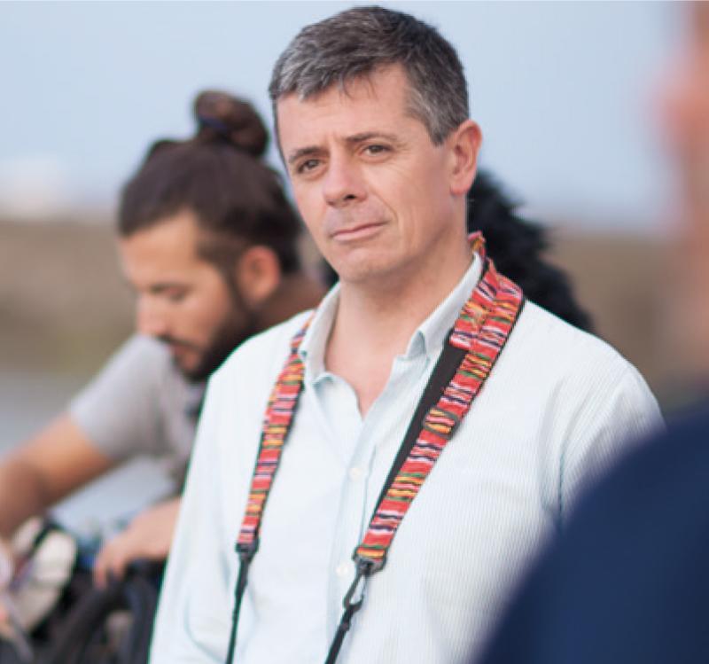 el biólogo Juan Martin
