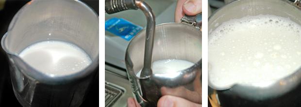Como emulsionar la leche