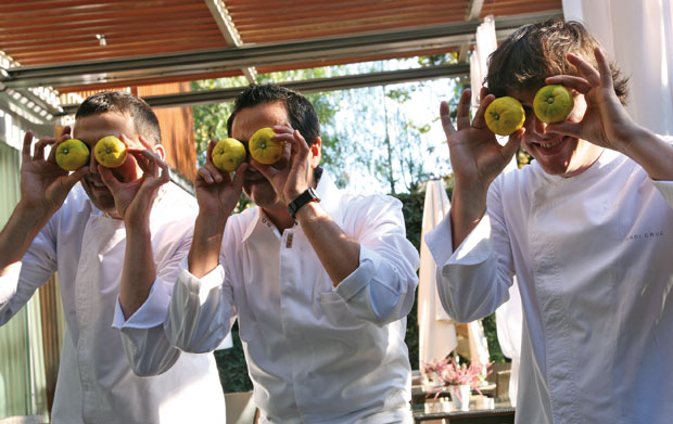 Presentación del Yuzu por Jordi Cruz, Hisato Nakahigashi y Jordi Bordas