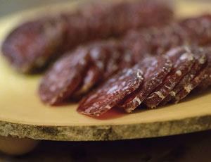 Longaniza de carne de cabra hispánica