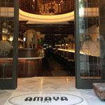 entrada del restaurante Amaya