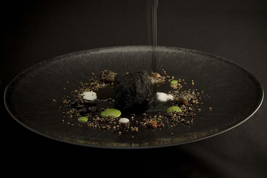 Afótico abisal, menú Ecosistemas, Restaurant Moments