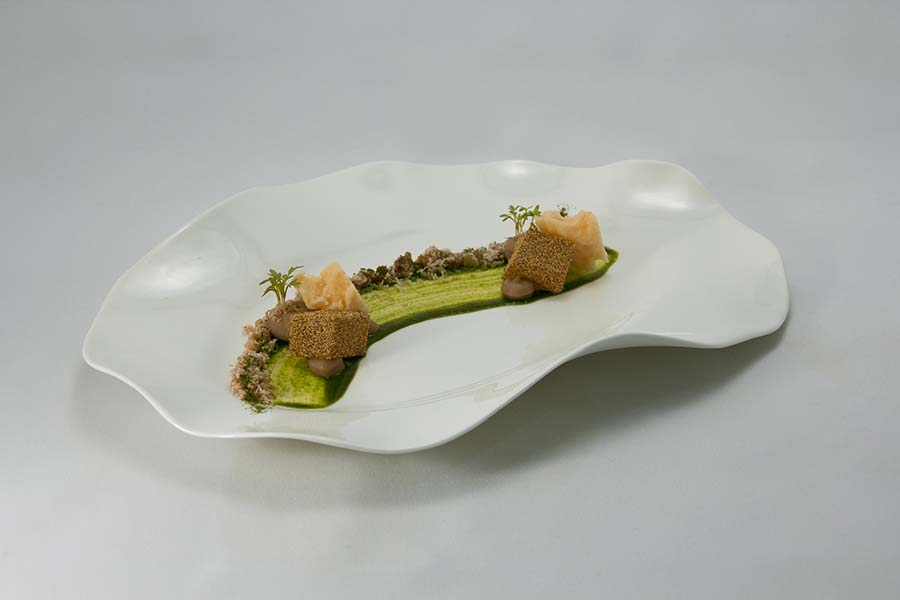 Pradera, Menú Ecosistemas, Restaurant Moments